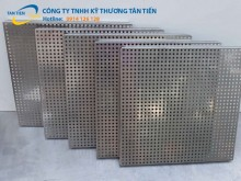 Tấm lưới inox dập lỗ 304, 201 giá rẻ tại Hà Nội