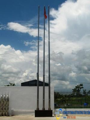 Cột cờ inox 8 mét chống ăn mòn cao