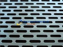 Tấm inox đục lỗ hình chữ nhật từ 1mmx16mm đến 7mmx70mm