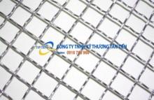 Sản xuất và cung cấp lưới inox 304 đan dạng sóng