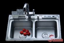 Chậu rửa inox, Chậu rửa chén inox TKS-7646R sản phẩm cao cấp được sản xuất theo công nghệ Hàn Quốc và được nhập khẩu bởi công ty Cổ phần inox Tân Tiến,Với mẫu mã đa dạng và kiểu dáng sang trọng chậu rửa bát TKS đã chiếm thị phần lớn trong thị trường quốc tế và tại Việt Nam