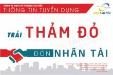 Công ty TNHH Tân Tiến - Tuyển dụng nhân viên kinh doanh