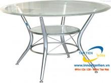 Chúng ta dễ dàng bắt gặp bàn ghế inox 304 tại các quán ăn bình dân, căng-tin, cơ sở cho thuê bàn ghế,… Ưu điểm của inox 304 là sáng bóng, bền đẹp, mang lại giá trị sử dụng lâu dài cho khách hàng.