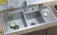 Chậu rửa bát inox, Cách sử dụng và bảo quản chậu rửa bát bến đẹp, Chậu rửa bát và vòi rửa là hai thiết bị thường xuyên được sử dụng trong tất cả các căn bếp vì vậy chúng đóng vai trò quan trọng trong tính hiệu quả cũng như thẩm mỹ của căn phòng