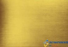 Tấm inox 304 màu vàng