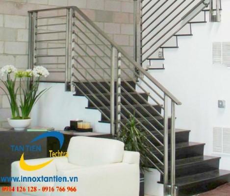 Những mẫu cầu thang inox đẹp nhất khiến bạn phải trầm trồ