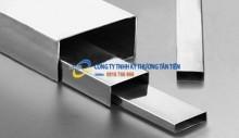 Hộp inox chữ nhật 201 - 60 x 120 mm cao cấp