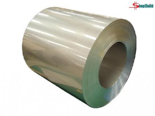 Tấm Cuộn Inox Cán Nguội Độ Bóng 2B loại hàng cán nguội, bề mặt đã được xử lý bóng mờ và được sản xuất thành dạng cuộn, nên thường được sử dụng làm bồn...